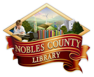 Nobles County Library Logo - web