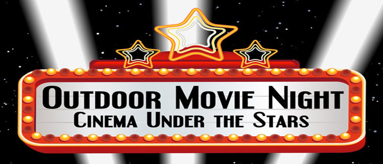 To inform of a outside movie night on July 22nd.
